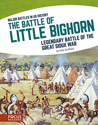 The Battle of Little Bighorn: Legendary Battle of the Great Sioux War (Major Battles in US History)