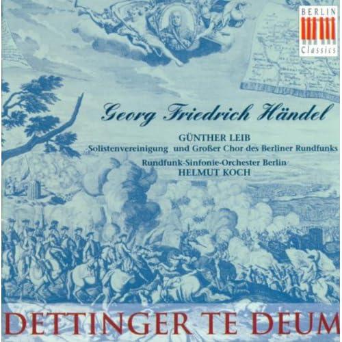 Georg Friedrich Händel: Te Deum (Sung in German) [Koch]