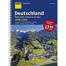 ADAC Superstraßen Deutschland, Österreich, Schweiz & Europa 2018/2019 1:200 000 (ADAC Atlanten)