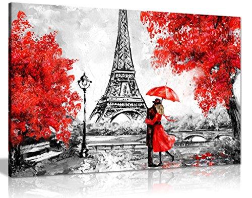 Lienzo impreso lienzo diseño torre Eiffel París