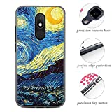 Frlife Case for Wiko Wim Lite Smartphone, Colorful Painting