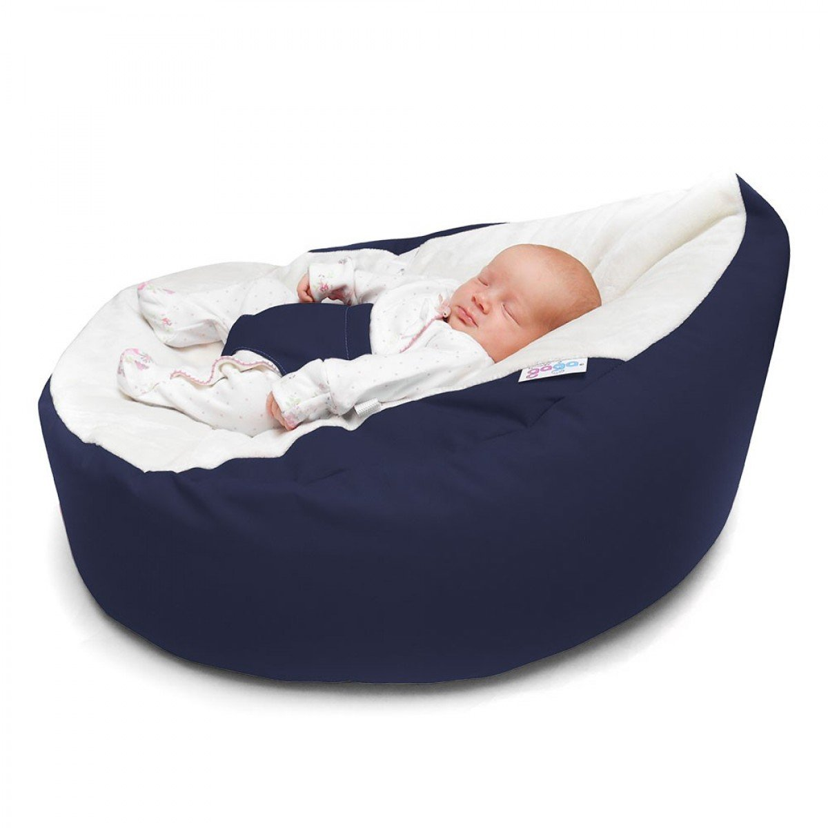 Navy Luxury Cuddle Soft GagaC Baby Bean Bags Amazoncouk Kitchen Home