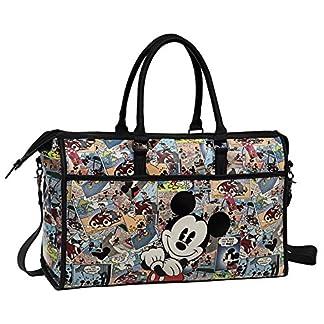 Disney Mickey Comic Bolsa de Viaje, 25.92 Litros, Color Varios Colores