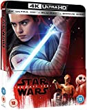 Star Wars:The Last Jedi Steelbook 4K Uhd+2D UK Limited Collector's Edition Bluray Steelbook Region free