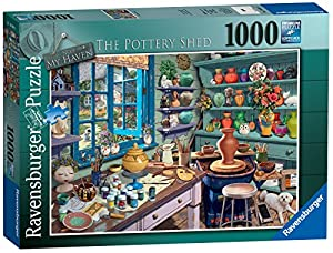 Ravensburger My Haven No 3. The Pottery Shed - Puzzle de 1000 Piezas
