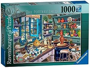 Ravensburger My Haven No 3. The Pottery Shed - Puzzle de 1000 Piezas