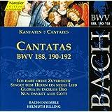 Bach, J.S.: Cantatas, Bwv 188, 190-192