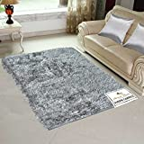 #8: Avioni Handloom Rugs Carpets For Living Room In Soft Fur Reversible Silver Light Weight Easy to Hold And Carry -3 Feet X 5 Feet-Limited period offer for 3 days