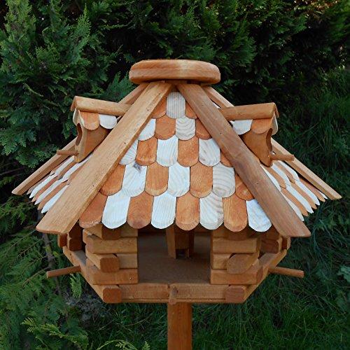 Großes Vogelhaus Futterhaus Vogelhäuschen –Wetterschutz– NN5b