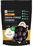 Ketofy - Choco Fudge Keto Cookies (400g) | Gluten-Free Intense Choco Indulgence