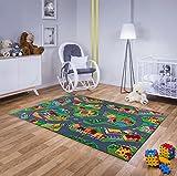 Echter Hit! Billiger Moderner Kinderteppich Straßenteppich. Guter Preis! (200cmx200cm)