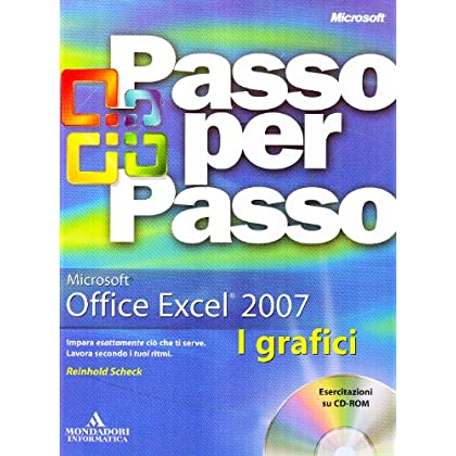 Microsoft Excel 2007. I Grafici. Con Cd-Rom