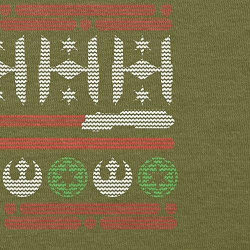 TEXLAB - Knitted Wars - Herren T-Shirt Oliv