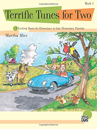 Martha Mier: Terrific Tunes for Two - Book 1