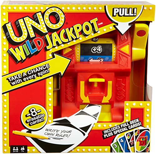 Mattel - UNO - Wild Jackpot - Kartenspiel
