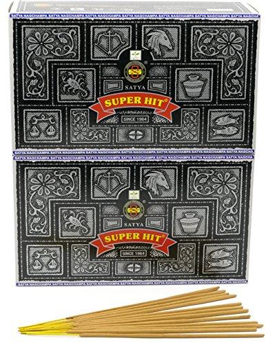 Nag Champa Superhit Räucherstäbchen, 24 Packs