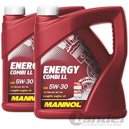 Preisvergleich Produktbild 2 x 5 Liter SCT Mannol Energy Combi LL 5W-30