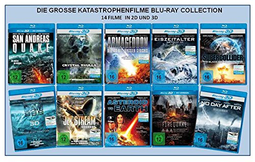 Die große Katastrophenfilme Blu-ray Collection (14 Filme in 2D + 3D)