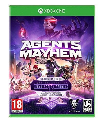 Agents of Mayhem XBOX One Day One Edition