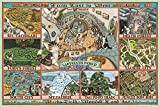 1000 piece jigsaw puzzle (50x75cm) Wachifield Labyrinth World by Yanoman