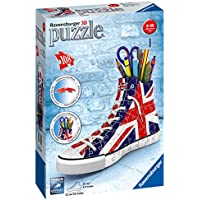 Ravensburger British Flag Sneakers 108pc 3D Jigsaw Puzzle