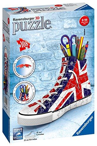 Ravensburger UK 11222 Britische Flagge Sneakers 108pc 3D Puzzle