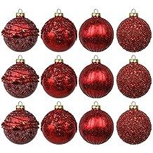 suchergebnis auf f r weihnachtskugeln glas rot. Black Bedroom Furniture Sets. Home Design Ideas