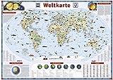Was ist Was Illustrierte Weltkarte: 1:47500000 (Atlanten & Wandkarten)