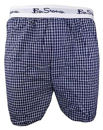 Mens 1pk Cool Cotton Boxer Shorts BEN SHERMAN (3XL)