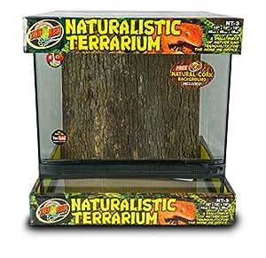 Croci Terrarium Naturaliste pour Reptile/Amphibien 45 x 45 x 45 cm
