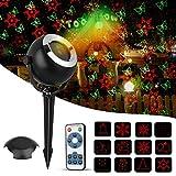 Proiettore luci natale esterno,Rottay(2017Nuova Versione)|Proiettore Luce Natale| LED Proiettore | Proiettore luci natalizie |Decorazione Natalizia da Giardino