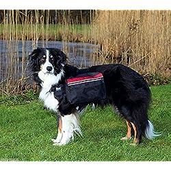 Mochila para Perros, L, 28x18 cm, Negro