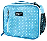 Best PackIt Lunch Boxes - PackIt Freezable Classic Lunch Box, Chambray Dot Review
