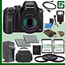 Samsung NX30 Mirrorless Digital Camera With 18-55mm F/3.5-5.6 OIS Lens + 16GB + 32GB Green's Camera Bundle 7