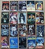 Hard Rock Heavy Metal Postkarten 20 verschiedene Set 2 Manowar Testament Obituary Sacred Reich Slayer Megadeth Judas Pri