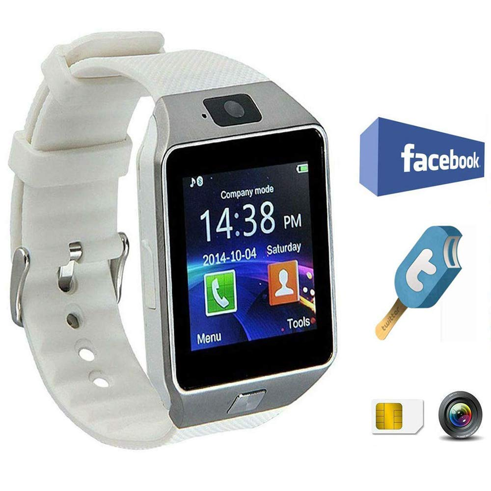 Hangang Smartwatch Bluetooth Inteligente Reloj 1.56 Touch Screen TFT LCD Podómetro Touch Smart Watch Android para… 1