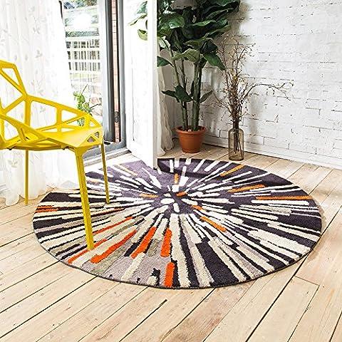 Upper-carpet, nouveaux Mode, rétro, Abstrait, rond, Moquette, séjour, chambre à coucher, bureau, ordinateur, Moquette, Tapis de sol, Tapis,