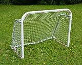 FLIXI Hockey- und Fußballtor - Tor aus Stahlrohr zum Zusammenklappen - Für Kinder und Jugendliche zum Fußball oder Streethockey als Trainingstor