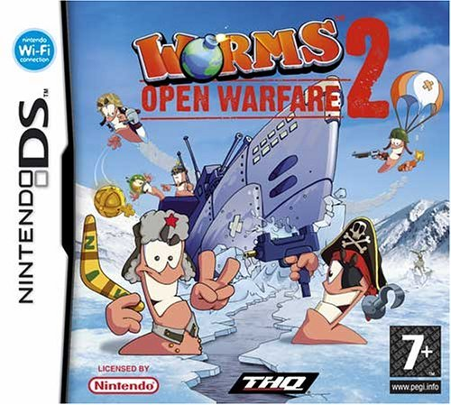 Worms: Open Warfare 2 (Nintendo DS) by THQ