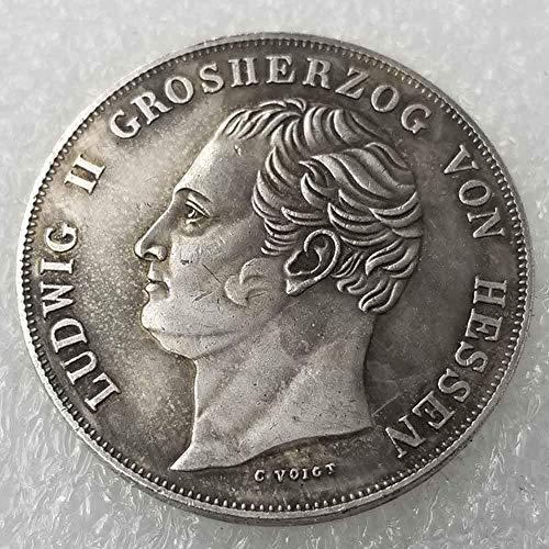 YunBest Antike Deutsche Morgan Silber-Dollars - Ludwig II Old Coin Collecting - Silver Dollar Old Original Pre Morgan Dollar - Replica Silbermünze BestShop