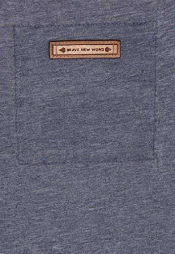 Naketano - Pull - Uni - Femme Heritage Bluegrey Melange