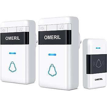 Door Bell Omeril Loud Wireless Doorbells With 5 Level