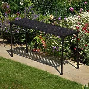 console de jardin style fer forg jardin. Black Bedroom Furniture Sets. Home Design Ideas
