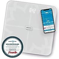 Medisana BS 450 Connect Bilancia Digitale per Analisi Corporea 180 Kg, Bilancia Personale per la Misurazione del Grasso…
