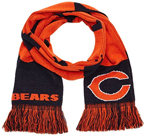 Forever Collectibles Schal NFL, Chicago Bears Fanschal, Mehrfarbig (Chicago Bears), SVNF14WMCBAM