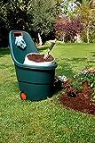 Keter 17182462 Gartenkarre Marisa grün, Fassugnsvermögen: 55 l - 3