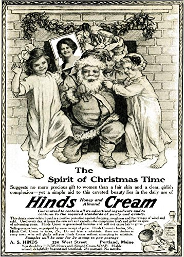 vintage-glanzposter-250-g-m-a3-weihnachts-motiv-the-spirit-of-christmas-time-with-hinds-honey-and-al