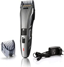 Nova NHT 1089 100% Waterproof 40 Trim Corded and Cordless Trimmer for Men(Grey)