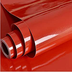 Red Vinyl Roll 30cm x 3m Roll of Self-Adhesive Vinyl Roll for Cutting Plotters Scrapbook Glossy Sticky Back Vinyl Roll Stickers /& Decals Craft Projects Home Decor Hobbies