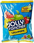 Jolly Rancher are unique juice filled Lollypops and candy with distinct Fruit Flavors and a perfect balance of Sweet and tangy taste.